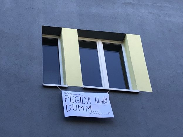 Pegida bleibt dumm